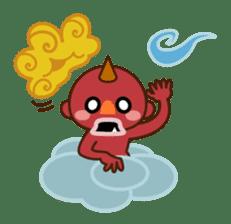 God of thunder! sticker #296830