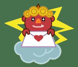 God of thunder! sticker #296840