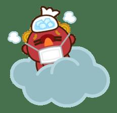 God of thunder! sticker #296842