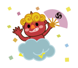 God of thunder! sticker #296844