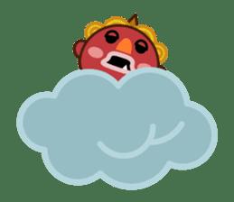 God of thunder! sticker #296845
