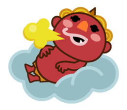 God of thunder! sticker #296857