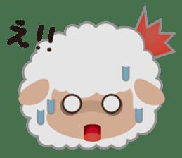 Shalom Sheep sticker #298995