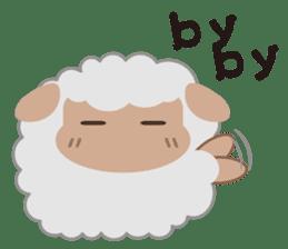 Shalom Sheep sticker #298997