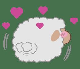 Shalom Sheep sticker #298998