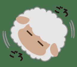 Shalom Sheep sticker #299001