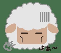 Shalom Sheep sticker #299002