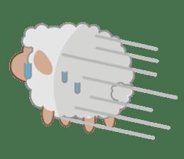 Shalom Sheep sticker #299012