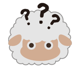 Shalom Sheep sticker #299013