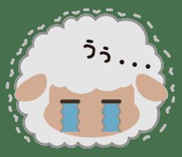 Shalom Sheep sticker #299014