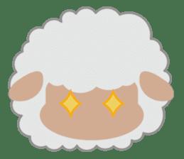 Shalom Sheep sticker #299015