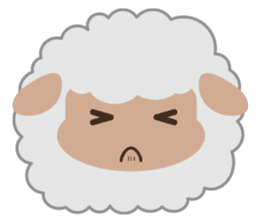 Shalom Sheep sticker #299016