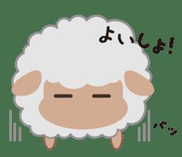 Shalom Sheep sticker #299017