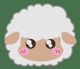 Shalom Sheep sticker #299018