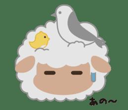 Shalom Sheep sticker #299019