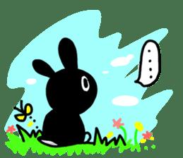 goma rabbit sticker #299626