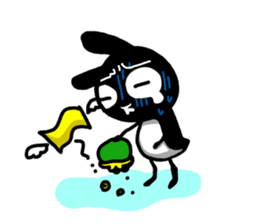 goma rabbit sticker #299633
