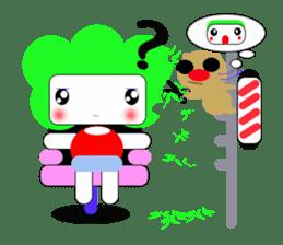 Teavel Lettuce and Potato sticker #299715