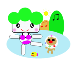 Teavel Lettuce and Potato sticker #299721