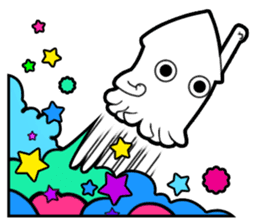 Suruming : the gaming squid sticker #299821