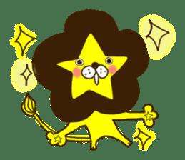 Star lion sticker #300272
