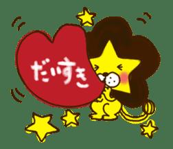 Star lion sticker #300288
