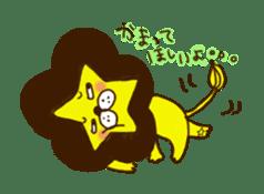 Star lion sticker #300293