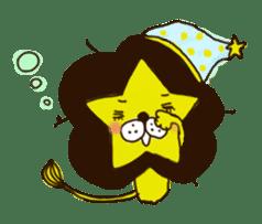 Star lion sticker #300297