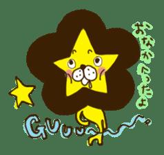 Star lion sticker #300299