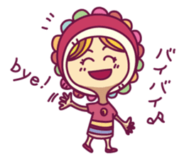 Smile girl sticker #302461