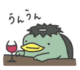 Daily Lives of Kappappo sticker #302548