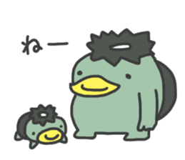 Daily Lives of Kappappo sticker #302551
