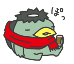 Daily Lives of Kappappo sticker #302552