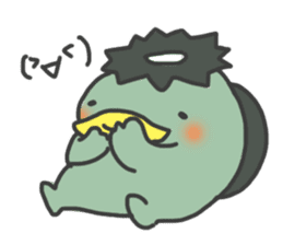Daily Lives of Kappappo sticker #302554