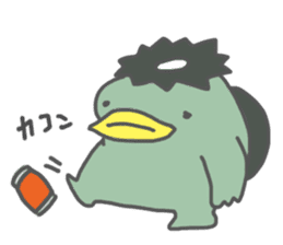 Daily Lives of Kappappo sticker #302558