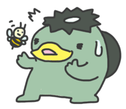 Daily Lives of Kappappo sticker #302561