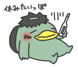 Daily Lives of Kappappo sticker #302567