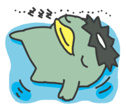 Daily Lives of Kappappo sticker #302571