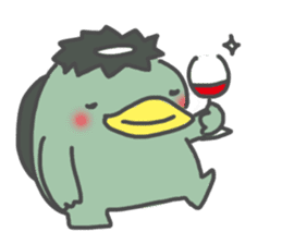 Daily Lives of Kappappo sticker #302575