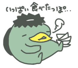 Daily Lives of Kappappo sticker #302579