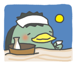 Daily Lives of Kappappo sticker #302582