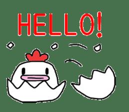 Yurui Niwatori sticker #302707