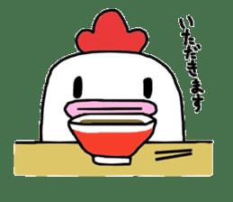Yurui Niwatori sticker #302739