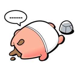Pp Bear and Pants Pig sticker #302755