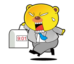 Pp Bear and Pants Pig sticker #302776