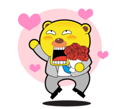 Pp Bear and Pants Pig sticker #302780