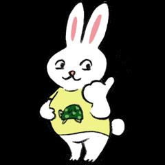 A little fatty-rabbit