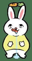 A little fatty-rabbit sticker #302825