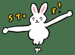 A little fatty-rabbit sticker #302827