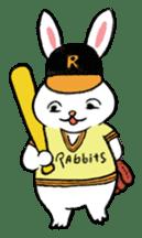A little fatty-rabbit sticker #302831